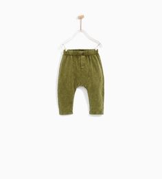 Image 1 of SEAMED TROUSERS from Zara