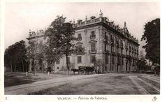 La antigua fábrica de Tabacos de Valencia, en el edificio de la Aduana del Rey, de 1758.