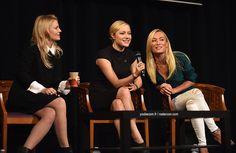 Jennifer Morrison, Georgina Haig and Victoria Smurfit @ Fairytales III panel (Jun 21st, 2015)