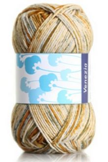 Yarn: Venezia Print. 100% cotton!