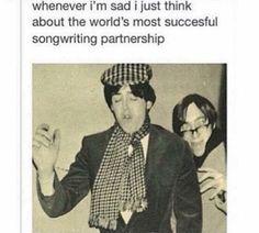 Ah yes, true artists, John and Paul.