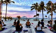 10 Beautiful Yoga Retreats To Escape To ASAP If you're like a lot of other yogis out there, you have the travel bug. Luckily there are tons of yoga retreats to escape to. Here are some prime picks. Kundalini Yoga, Hatha Yoga, Yoga Pilates, Sup Yoga, Yoga Meditation, Meditation Space, Iyengar Yoga, Pilates Reformer, Health Retreat