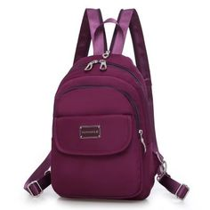 2017 New Women Handbags Nylon Chest Bags Fashion Cross Body Messenger Bags Multi-functional Travel Bag Ladies Shoulder Bags