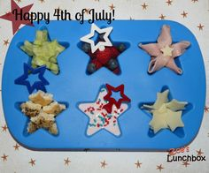 4th of July Muffin Tin Meal