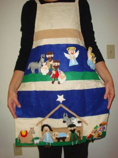 Nativity Story Time Apron by NanaMomMe on Etsy
