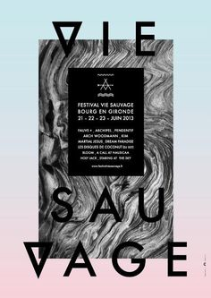 Festival Vie Sauvage 2013, Bourg en Gironde (studio caractr)