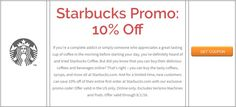 Starbucks Promo: 10% Off Brought to you by http://www.imin.com and http://www.imin.com/store-coupons/starbucks