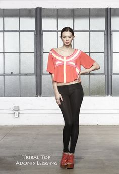 Tribal Top & Adonis LeggingVarsity Warrior Spring/Summer Collection 2012