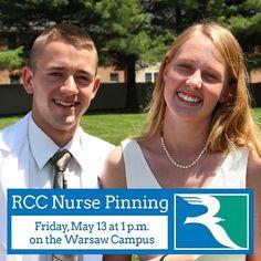 YOU'RE INVITED: RCC Nurse Program Pinning Ceremony: May 13 at 1 p.m. at the Warsaw Campus #rccsummer #nursing #nnk #nursingschool #rappahannockcommunitycollege #rappahannock #community #college #comm_college #northernneck #northenneckva #virginia #pinning