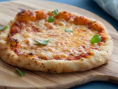 "PIZZA PIZZAS RECIPE: ~ From: ""Food Network.Com"". ~ Recipe Courtesy of ALTON BROWN (Good Eats ~ Flat is Beautiful). ~ Prep.Time: 24 hrs; Cook Time: 45 min; Total Time: 24 hrs, 45 min; Level: Intermediate; Yield: (2 Pizzas)."