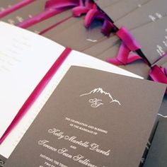 Late Summer Wedding in Sun Valley, Idaho Letterpress Wedding Stationery, Late Summer Weddings, Mountain Weddings, Sun Valley, Wedding Programs, Custom Invitations, Honey, Paper, Instagram Posts