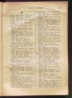 Einwohnerbuch für Insterburg, 1934, Инстербург, Черняховск