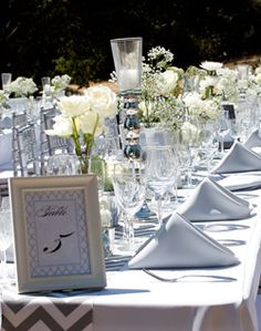 A California, Rustic-Ranch Wedding // Photo: Applemoon Photography Wedding Table, Wedding Favors, Rustic Wedding, Our Wedding, White Centerpiece, Centerpieces, Table Decorations, Event Planning, Wedding Planning