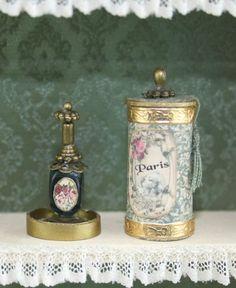 """Résultat de recherche d'images pour """"flacon parfum miniature tuto"""""""