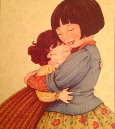 Mary Engelbreit is known for her distinctive illustrations, featured on best-selling calendars, children's books, greeting cards, figurines and more! Mary Engelbreit, Images Of Mary, Take The High Road, Best Hug, Creation Photo, Queen Of Everything, Dream Tattoos, Animation, Naive Art