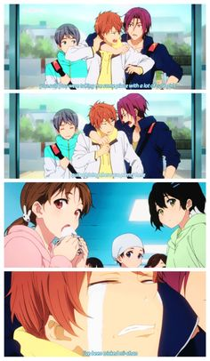 Free! ES ~~ Just look next to you, Peaches. Ai-chan is cute, too!