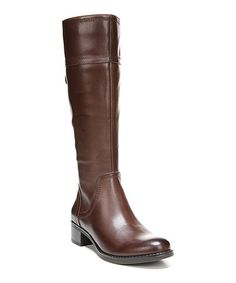 Loving this Oxblood Brown Carlano Leather Boot on #zulily! #zulilyfinds