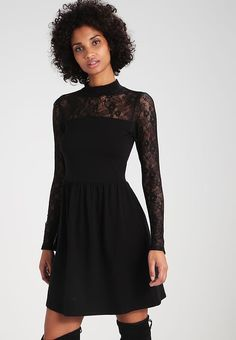 0ffa6d5a91a0 ONLY ONLNIELLA - Jersey dress - black for £29.99 (09 11 17
