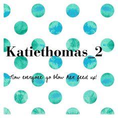 """Go follow Katiethomas_2"" by rachelayrex ❤ liked on Polyvore"