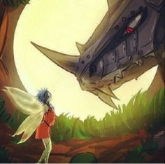 The Fairy and the Dragon / gajevy