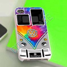 VW Bus Tie Dye Pattern  iPhone 4/4s/5 Case  Samsung by CityzenCase, $15.00