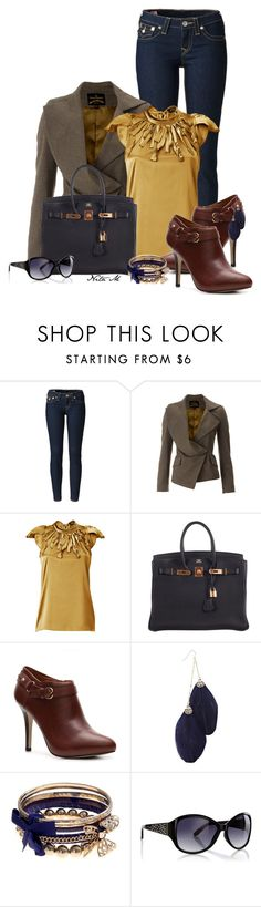 """Ivanka Trump Boots"" by mz-happy ❤ liked on Polyvore featuring True Religion, Vivienne Westwood, Steffen Schraut, Hermès, Ivanka Trump, Warehouse and Oasis"