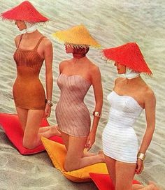 Beach Nostalgia courtesy of Couture Allure Vintage.