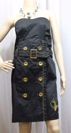 BABY PHAT Dress Black Dress Strapless Mini SEXY NWT    eBay