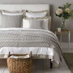 Genoa Bed Linen Collection | The White Company