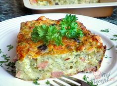 Zucchini casserole that is addictive Top-Rezepte. - Zucchini casserole that is addictive Top-Rezepte.de Zucchini casserole that i - Zucchini Casserole, Casserole Recipes, Raw Food Recipes, Dinner Recipes, Healthy Recipes, Pizza Recipes, Clean Eating Snacks, Healthy Snacks, Snacks Sains