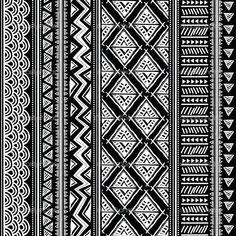 black/white pattern   We Heart It   wallpaper, black and white ...