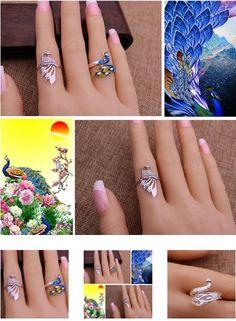 Floral Engagement Ring, Morganite Engagement, Engagement Rings, Handmade Rings, Handmade Silver, Ladies Silver Rings, Animal Rings, Rings For Girls, Cute Rings