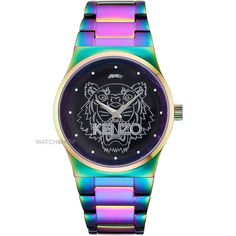 Unisex KENZO Tiger Head Watch 9600204
