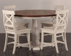Rooma-pöytää valmistamme eri kokoisina. Halk. 100, 120 ja 140 cm. Kuvassa vahattuna pähkinän sävyyn ja jalka maalattuna vaaleaksi. juvi.fi