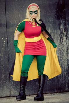 Robin Cosplay, Robin Costume, Dc Cosplay, Cosplay Outfits, Cosplay Girls, Cosplay Costumes, Anime Cosplay, Super Hero Costumes, Cool Costumes