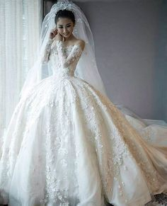 Ball+Gown+Wedding+Dresses+❤+See+more+:+http://bugelinlik.com/en/wedding-dresses/ball-gown/2