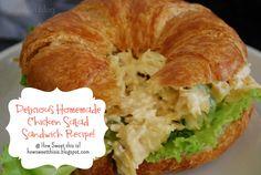 Delicious Easy Chicken Salad Sandwich Recipe!