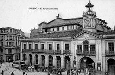 Enlace permanente de imagen incrustada Louvre, Building, Travel, Town Hall, Oviedo, Vintage, Antique Photos, Places To Visit, Cities