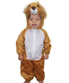 Kids Animal Brown Lion King Costume Dress Up Birthday Party Xmas Fancy Halloween Trick Or Treat, Halloween Costumes For Kids, Lion King Costume, Birthday Ideas, Birthday Parties, Costume Dress, Animals For Kids, Dress Up, Xmas