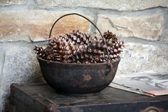 Home Decor, Holiday, Fall Harvest, Autumn, Rustic, Centerpiece