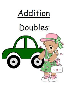 Fern Smith's Math Center Game Addition Doubles Concept!