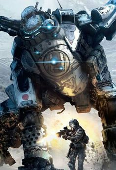 If I was actually bothered to play the gaming PC, I would buy Titanfall in a heartbeat.esse game é sinistro Geek Games, Xbox Games, Video Game Art, Video Games, 1 Vs 1, Mekka, Great Backgrounds, Gears Of War, Ghost In The Shell