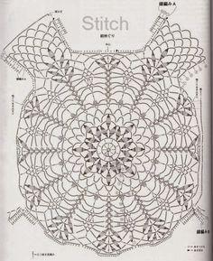 COMO HACER POLERAS TEJIDAS A CROCHET CON PATRONES Y GRAFICOS | Patrones Crochet, Manualidades y Reciclado