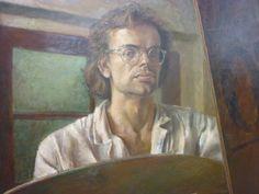 Gert Jan van Kleef 1976 Van, Selfie, Painting, Paintings, Vans, Draw, Drawings, Selfies