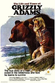 The Life and Times of Grizzly Adams~the man had his face and beard burned from cherries jubilee