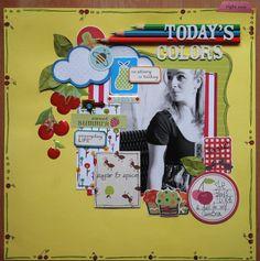 Today's colors - Scrapbook.com