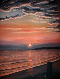 Irish Sunset by Deborah Okeefe from Art Wanted.com