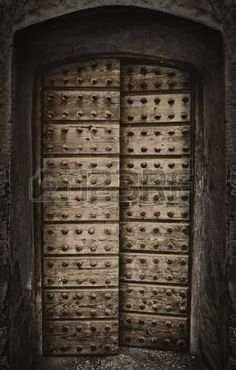 Old arabic rustic door