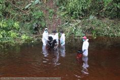 EXCLUSIVE PHOTOS: Yet another oil spill strikes the Peruvian Amazon