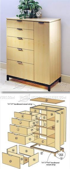 Wardrobe Plans - Furniture Plans and Projects | WoodArchivist.com